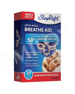 SleepRight Intra-Nasal Breathe Aid - 30 Day Supply