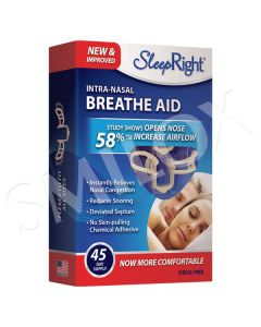 SleepRight Intra-Nasal Breathe Aid - 45 Day Supply