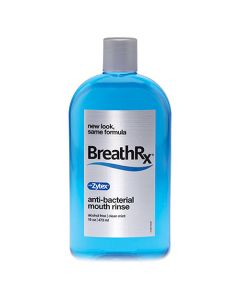 BreathRx Anti-Bacterial Mouth Rinse 16oz