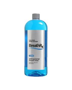 BreathRx Anti-Bacterial Mouth Rinse 33oz (Large)