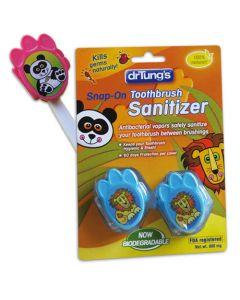 drTung's Kids Snap-On Toothbrush Sanitizer