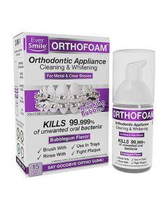 EverSmile OrthoFoam On-The-Go Braces Cleaner 2pk