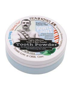 Frau Fowler Power Mint Tooth Powder CLEARANCE ITEM