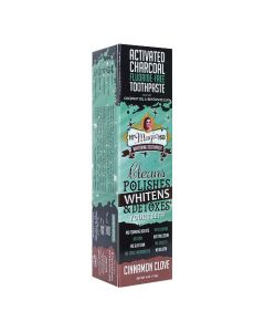 My Magic Mud Activated Charcoal Whitening Toothpaste - Cinnamon Clove