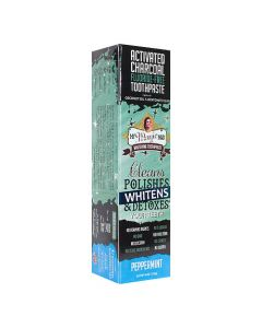 My Magic Mud Activated Charcoal Whitening Toothpaste - Peppermint