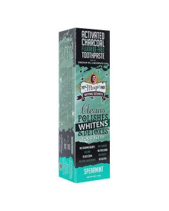 My Magic Mud Activated Charcoal Whitening Toothpaste - Spearmint