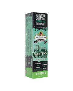 My Magic Mud Activated Charcoal Whitening Toothpaste - Wintergreen