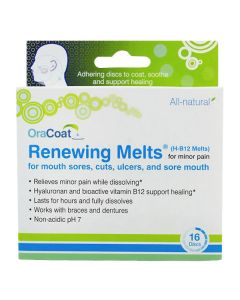 OraCoat Renewing Melts (H-B12 Melts) for Mouth Sores