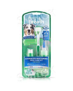 TropiClean Fresh Breath Advanced Whitening Oral Care Kit