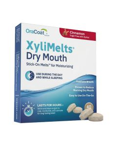 OraCoat XyliMelts for Dry Mouth - Cinnamon