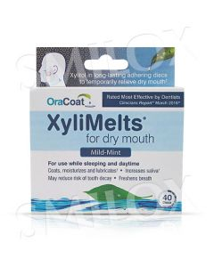OraCoat XyliMelts for Dry Mouth - Mint